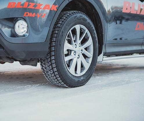 Bridgestone Blizzak DM-V2 (Бриджстоун Близак ДМ-В2)