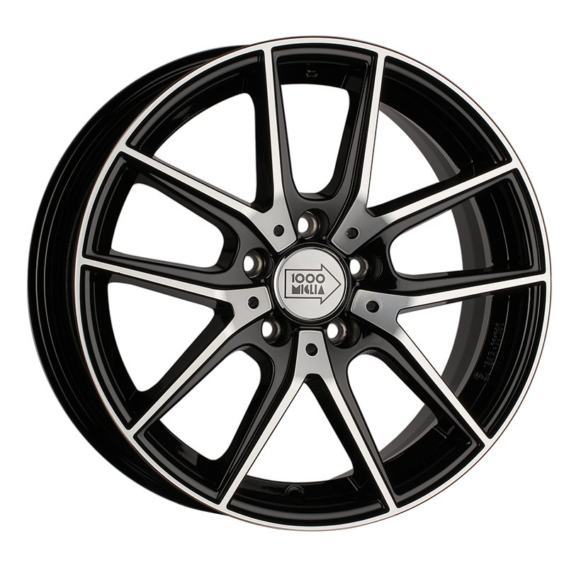 1000 Miglia MM041 6.5Jx16 5x112 ET42 d57.1 black polished
