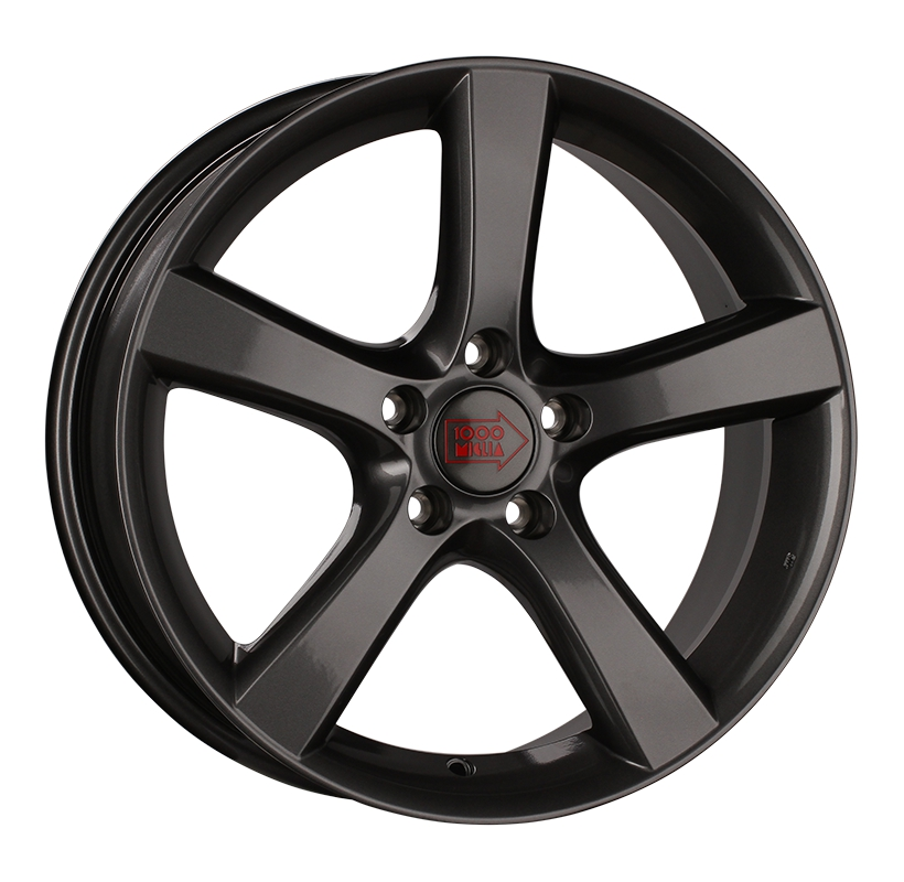 1000 Miglia MM1001 8Jx18 5x114.3 ET40 d67.1 dark anthracite high gloss