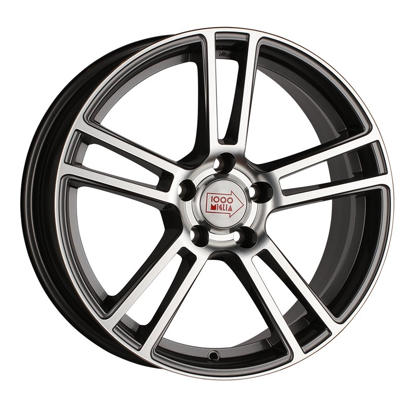 1000 Miglia MM1002 8x18 5x120 ET35 d72.6 dark anthracite polished