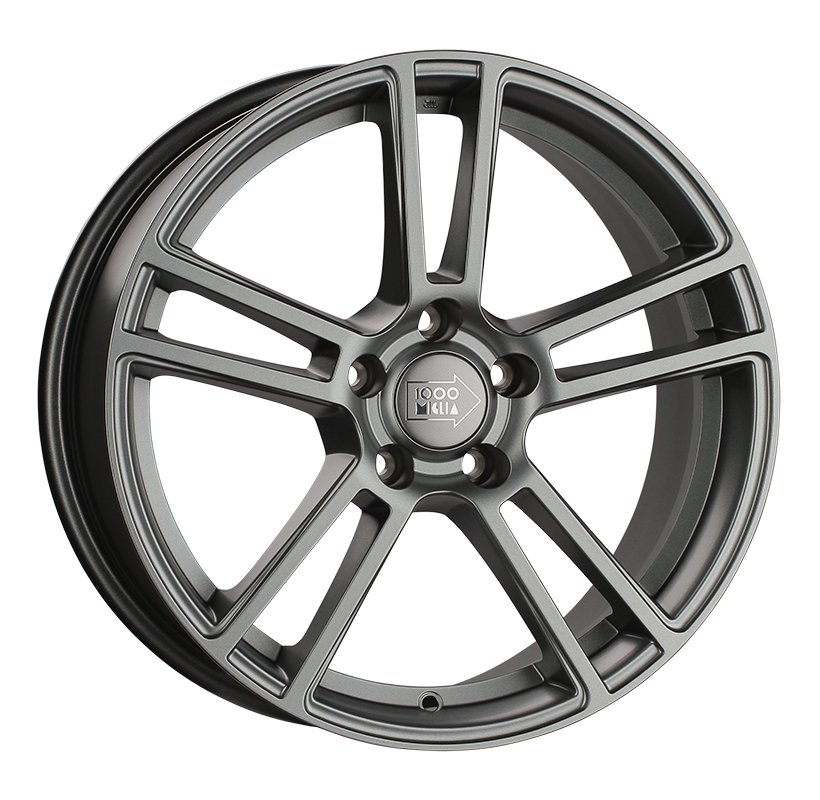 1000 Miglia MM1002 8.5Jx19 5x114.3 ET42 d67.1 matt anthracite
