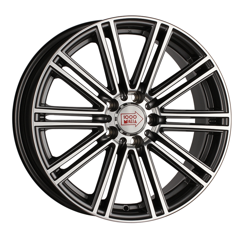 1000 Miglia MM1005 8x18 5x108 ET40 d63.3 dark anthracite polished