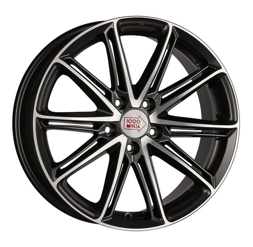1000 Miglia MM1007 8.5x19 5x112 ET32 d66.6 dark anthracite polished