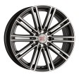 1000 Miglia MM1005 7.5x17 5/120 DIA 72.6 dark anthracite polished