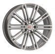 1000 Miglia MM1005 9.5x19 5/120 DIA 72.6 matt silver polished