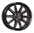 1000 Miglia MM1007 7.5x17 5/114.3 DIA 67.1 dark anthracite high gloss