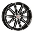 1000 Miglia MM1007 7.5x17 5/108 DIA 63.3 dark anthracite polished