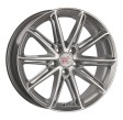 1000 Miglia MM1007 7.5x17 5/108 DIA 63.3 silver gloss polished