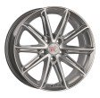 1000 Miglia MM1007 7.5x17 5/114.3 DIA 67.1 silver gloss polished