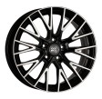 1000 Miglia MM1009 8x17 5/120 DIA 72.6 gloss black polished