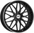 AEZ Crest dark 7.5x17 5/112 DIA 70.1 anthracite matt polished lip