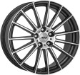 AEZ Steam 8.5x18 5/112 DIA 66.6 anthracite polished