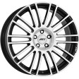 AEZ Strike 8x18 5/127 DIA 71.6 black polished