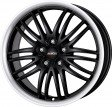 Alutec BlackSun 8x17 5/114.3 DIA 70.1 racing-black lip polished