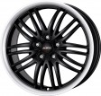 Alutec BlackSun 8.5x19 5/112 DIA 70.1 racing-black lip polished