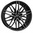 Alutec Burnside 7.5x17 5/100 DIA 57.1 diamond-black front polished