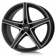 Alutec Raptr 7.5x18 5/120 DIA 72.6 racing black front polished