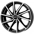 Alutec Singa 6x15 5/114.3 DIA 67.1 diamond black front polished