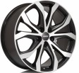 Alutec W10X 8x18 5/120 DIA 72.6 racing black front polished