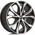 Alutec W10X 8.5x19 5/108 DIA 63.3 racing black front polished