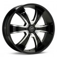 American Racing AR894 8.5x20 5/114.3 DIA 72.6 Black/machined