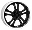 American Racing Casino (AR393) 8.5x20 5/114.3 DIA 72.6 Black/machined
