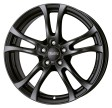 Anzio Turn 5.5x14 4/108 DIA 65.1 racing-black