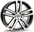 Replica Audi W551 Wien 10x22 5/130 DIA 71.6 anthracite polished