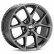 BBS SR 7.5x17 5/108 DIA 70.1 vulcano grey diamond cut