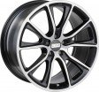 BBS SV 10x20 5/130 DIA 71.6 satin black diamond cut