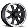 Black Rhino Moab 9x17 8/165 DIA 120 gloss black