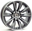 Replica BMW W668 Ricigliano 8x18 5/120 DIA 74.1 dark polished