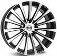 Borbet BLX 8.5x19 5/112 DIA 72.6 black polished matt