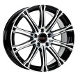 Borbet CW1 8x18 5/114.3 DIA 72.6 black polished