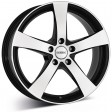 DEZENT RE black 8x17 5/120 DIA 72.6 black polished