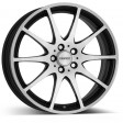 DEZENT TI dark 6.5x16 5/108 DIA 70.1 black polished