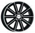 DEZENT TM dark 7x17 5/112 DIA 66.6 black polished