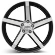 DOTZ CP5 dark 8.5x19 5/120 DIA 72.6 black polished