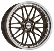DOTZ Revvo 8.5x19 5/108 DIA 70.1 bronze polished lip