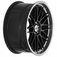 DOTZ Revvo dark 8x18 5/108 DIA 70.1 black polished lip