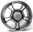 Replica Fiat W157 Forio 7x17 4/100 DIA 56.6 anthracite polished