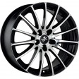 Fondmetal 7800 8x18 5/120 DIA 74.1 black polished