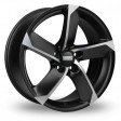 Fondmetal 7900 7x16 5/114.3 DIA 67.1 Matt black polished