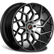 Inforged IFG42 8.5x20 5/112 DIA 66.6 black machined