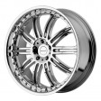 KMC Wheels KM127 8.5x18 5/120 DIA 74.1 CHROME