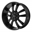 KMC Wheels KM673 8x18 6/139.7 DIA 100.5 black