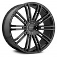 KMC Wheels KM677 8.5x20 5/114.3 DIA 72.6 black