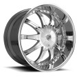 Lexani CS2 10x21 5/114.3 DIA 74 chrome /K