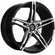 Lexani R3 8.5x19 5/108 DIA 74.1 black / machined /K