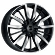 MAK Barbury 8.5x20 5/114.3 DIA 76 Ice Black